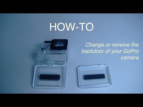 How-To change/remove GoPro backdoor