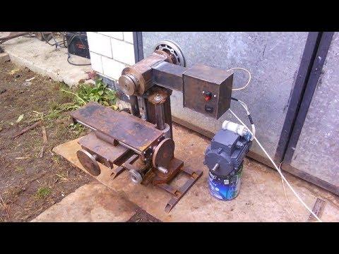 Homemade milling machine part 6
