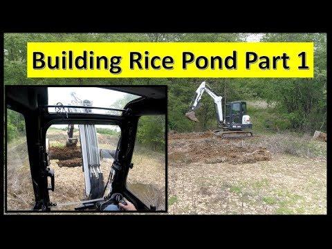DIY Building a Rice Pond/Duck Plot PART 1 05-09-18