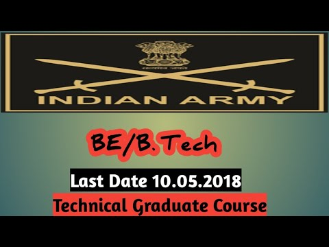 INDIAN ARMY for Technical Graduate Course~ Technical Officer (Lt.)