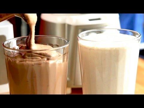 Banana Coconut Shake BATTLE! Good Tasting vs Good for You