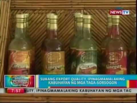 BP: Sukang export quality, ipinagmamalaking kabuhayan ng mga taga-Sorsogon