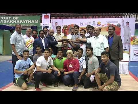 Senior National Weightlifting Championship in Visakhapatnam