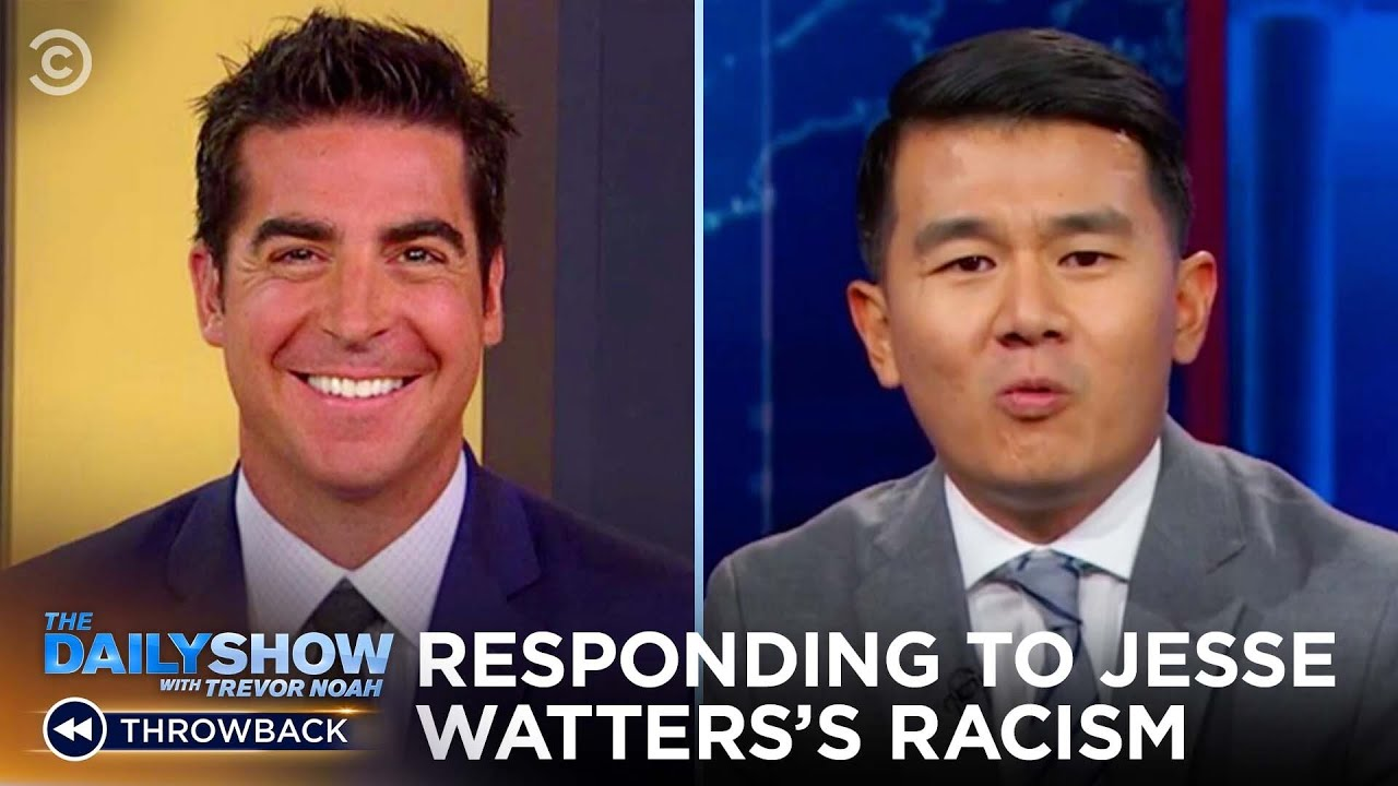 Ronny Chieng's Response to Jesse Watters's Anti-Asian Racism   The Daily Show