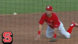NC State Turns Incredible Double Play In Win vs. UNC
