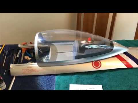 Sliding Airplane Canopy Using Linear Actuator