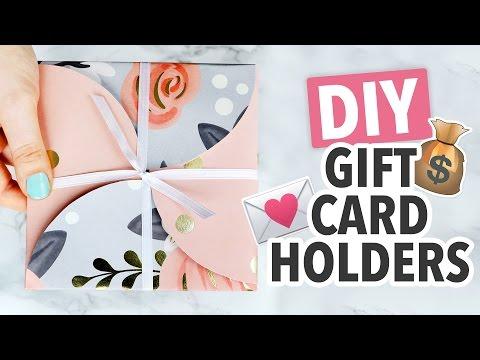 DIY Gift Card Holder 2 Ways ~ Christmas 2016 - HGTV Handmade