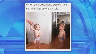 Me Me Monday: Summer Diet Edition