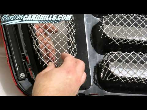 customcargrills.com - How To Make a Wire Mesh Grill For Ford F-150