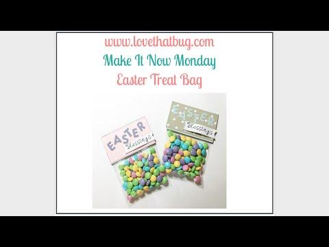 Cricut Explore Easter Treat Bag