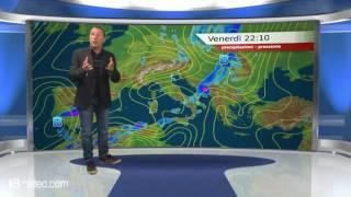 Previsioni meteo Video per venerdi, 28 aprile