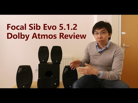 Focal Sib Evo 5.1.2 Dolby Atmos Speakers Review