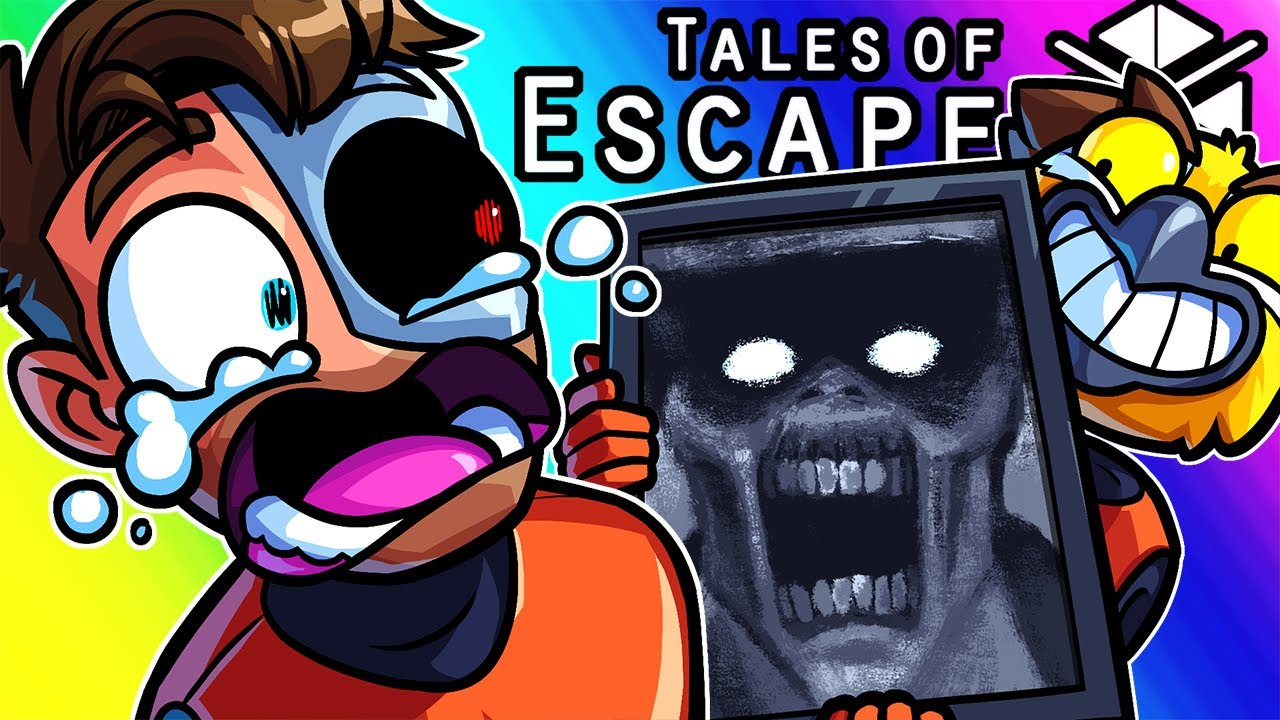 Tales of Escape Funny Moments - The Jumpscare Mines!