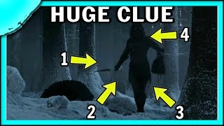 OPENING SCENE HIDDEN CLUE to the Game of Thrones Season 8 NIGHT KING REVEAL