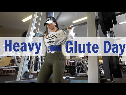 BUILD MASS ON THAT A** //HEAVY GLUTE DAY