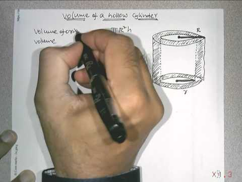 Vol Hollow cylinder