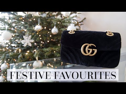 FESTIVE FAVOURITES | FASHION, LUXURY & LIFESTYLE