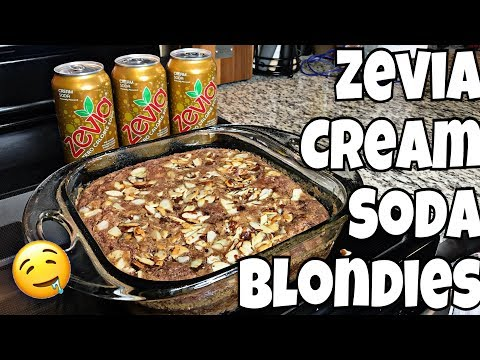 Zevia Keto Cream Soda Blondies | Easy Keto Dessert!