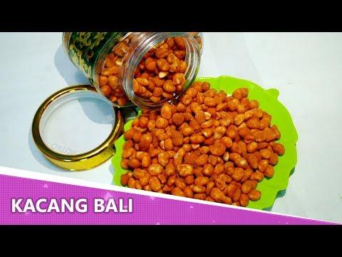 Resep Kacang Bali Manis Renyah