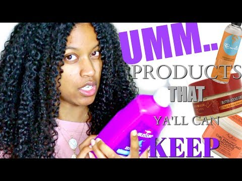 Products That I Have But Won't Ever Use!|Natural Hair Products I Dislike