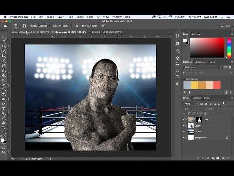 Turn a Photo into Stone Photoshop CC