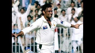 Shoaib Akhtar 11 wickets in a test match against New Zealand 2nd Test 2003