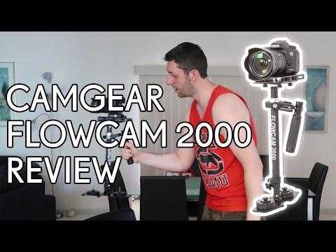 Camgear Flowcam 2000 Stabilizer Setup + Review & Test Footage