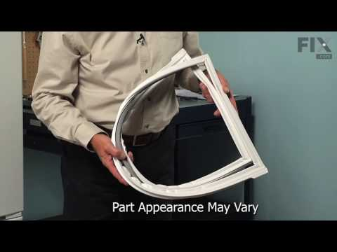 Kenmore Refrigerator Repair – How to replace the Door Gasket