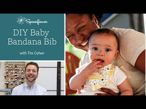 How to Make a Bandana Bib for your Little One   Spoonflower Tutorials