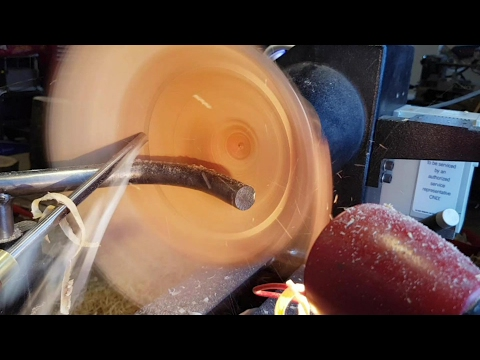 Woodturning Coquille Saint Jacques Bowl