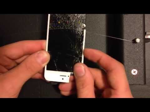 How to Separate LCD / Front Glass on iPhone 5 / 5c / 5s