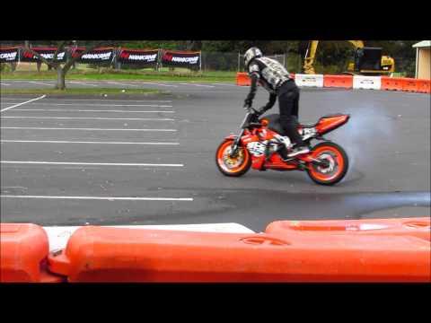 Motor Bike Stunts NZ - Automania 2015