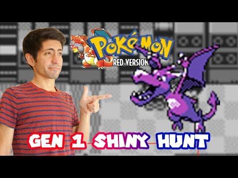SHINY GEN 1 AERODACTYL HUNT! Pokemon Red Virtual Console (3DS) Come hangout!