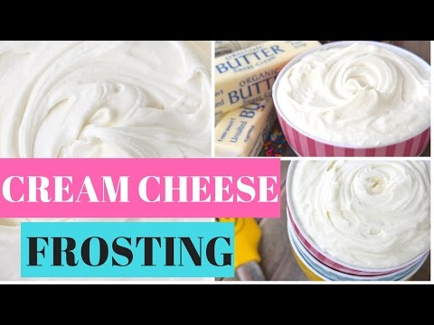 That REAL Cream Cheese Frosting Recipe OMG My Fav!