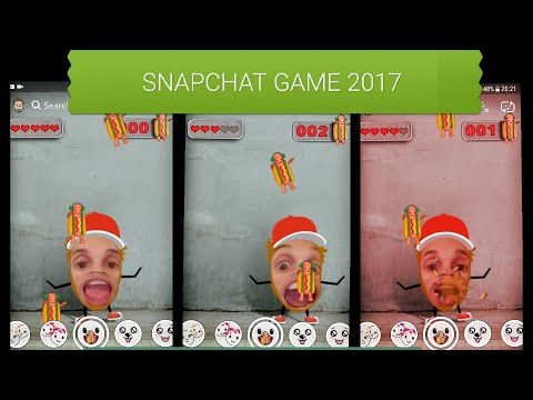 Eat Hot Dogs on Snapchat BEST GAME 2017