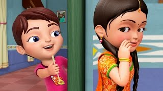 Bhaiya Aur Behena | Hindi Rhymes for Children | Infobells
