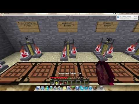 How To Make All Potions Minecraft 1.7.2 (Best)