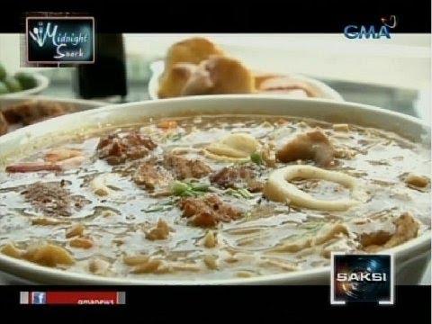 Midnight Snack: Lomi ng Batangas na pamana ng mga Tsino, masarap daw ubusin habang mainit pa