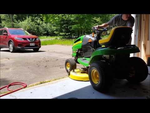 DIY John Deere Mower Belt Remove & Replace (how to)