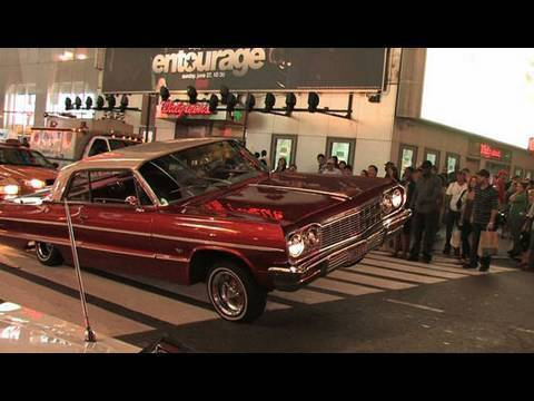 Lowriders Cars Bounce on Broadway - New York Post