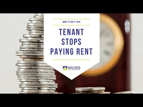 How to be a landlord in San Diego - What to do if your tenant stops paying rent