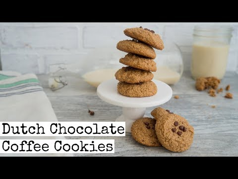 Dutch Chocolate Coffee Cookies