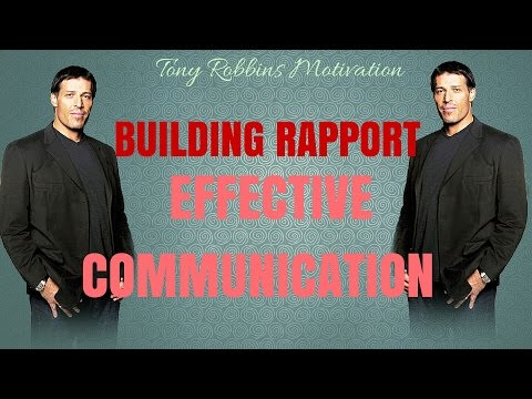 [FULL]Tony Robbins Motivation   Building Rapport - Effective Communication   Tony Robbins Coaching