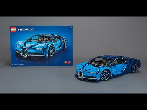 LEGO Technic 42083 Bugatti Chiron BUILD + REVIEW