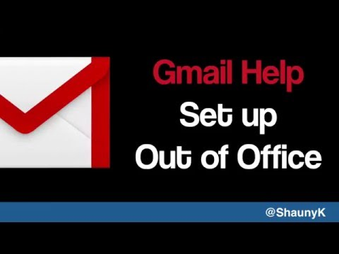 Gmail Help - Set up Out of Office Response