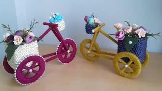 El Yapımı Bisiklet Nasıl Yapılır | Como Fazer Bicicleta Artesanal | DIY | Tasarım | Geri Dönüşüm