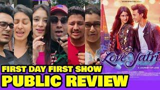 LOVEYATRI Public Review | First Day First Show | Aayush Sharma, Warina Hussain | Salman Khan Film
