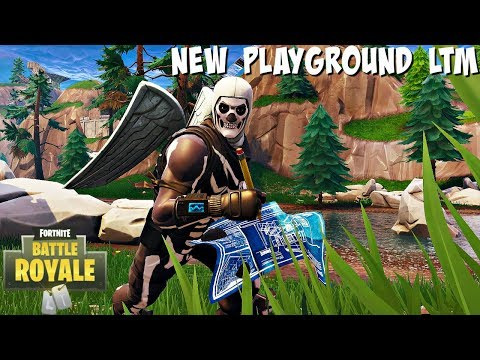 FORTNITE NEW PLAYGROUND LTM ANNOUNCED! (RESPAWN/PRACTICE BUILDING + COMBAT)