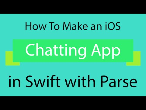 iOS Apps: Creating a chatting app in Swift with Parse! (Friends Chatting App!)