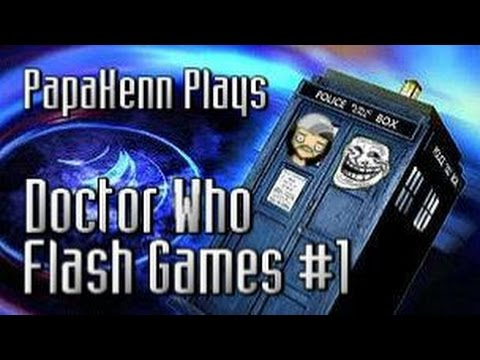 Doctor Who Flash Games #1 (Black Hole, Into The Vortex, Security Bot)